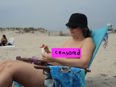 Naked Day At The Beach Robert Moses Long Island Ny