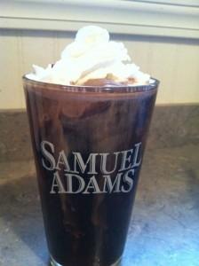wee heavy chocolate coffee milkshake