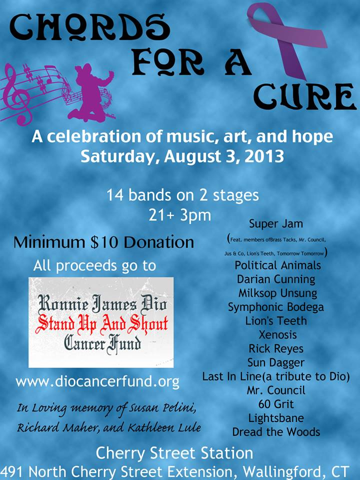 Chords For A Cure Connecticut Musicians Band Together To Fight