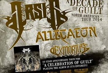 TICKET GIVEAWAY: Arsis // Allegaeon // Exmortus // Lightsbane + more 9/2 in Trenton, NJ