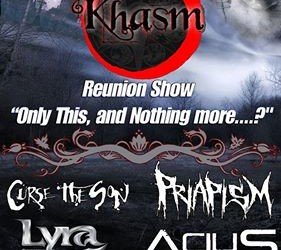 Khasm Ticket Giveaway and Interview with Bassist Keith the Wretched