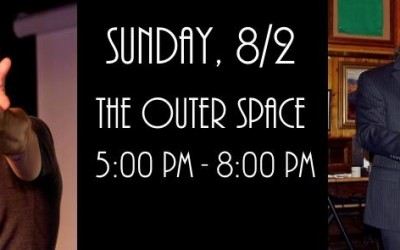 TICKET GIVEAWAY: An Evening of Comedy and Mind-Reading at The Outer Space, 8/2