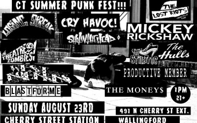 Burning In The Summer Heat: A Preview of the 2015 CT Summer Punk Fest