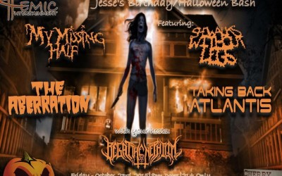 Coming Soon: Jesse's Birthday/Halloween Bash — 10/23 at Cherry Street Station, Wallingford, CT