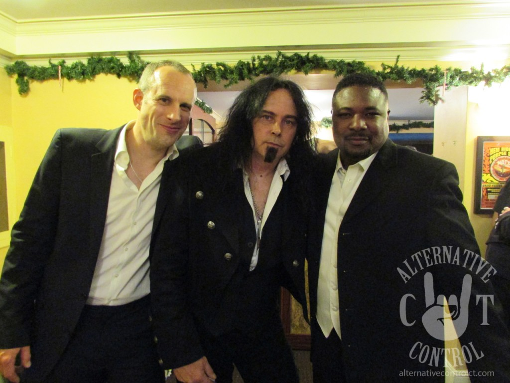 Guy LeMonnier and Tony Gaynor, both originally of Trans-Siberian Orchestra with lead guitarist Fred Gorhau