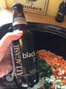 Allagash Black Beef Stew With Kale