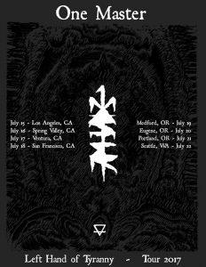 one master 2017 tour