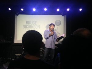 bruce dickinson reading