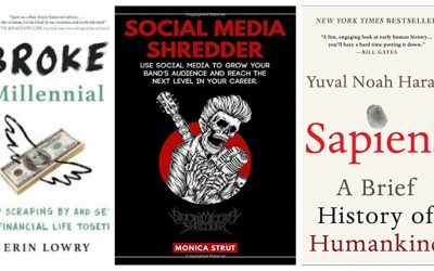 Reading Recently: Broke Millennial, Sapiens, and Social Media Shredder