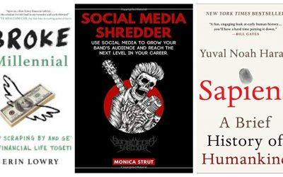 Reading Recently: Broke Millennial, Sapiens, and Social Media Shredder