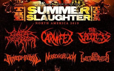 On the Front Line: The Summer Slaughter Tour @ (Le) Poisson Rouge August 2, 2019