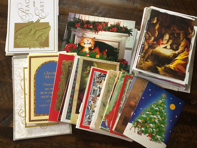 savers christmas cards