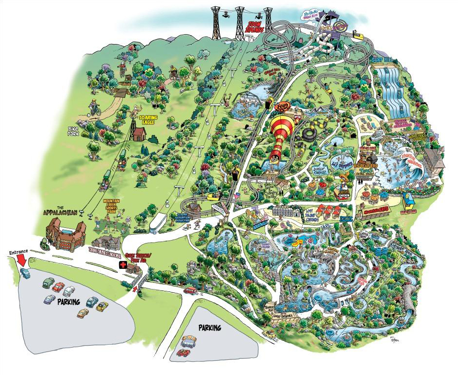 Mountain Creek Water Park Map Mountain Creek is a Good Time OR I Shouldn't Be Alive – The Legend  Mountain Creek Water Park Map