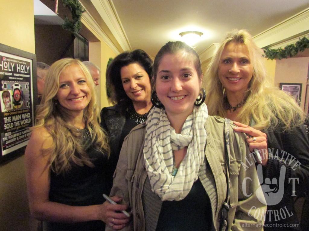 My fiance with some of the ladies of WoW: Natalia Niarezka and Sharon Kelly