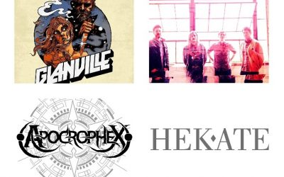 Listening Lately: Glanville, Apocrophex, Hekate, and The Proud Flesh