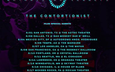 On the Front Line: Animals As Leaders, The Contortionist, & Moon Tooth  @ Irving Plaza on May 21, 2019