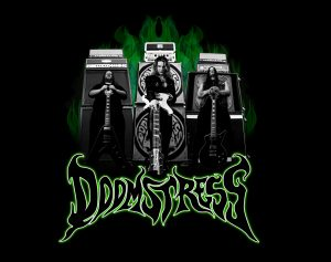 DOOMSTRESS PROMO GREEN FLAMES