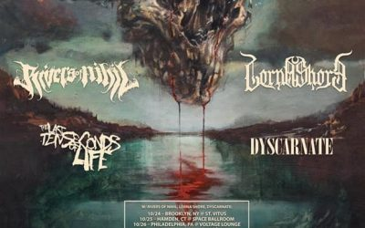 On the Front Line: Fit for An Autopsy, Rivers of Nihil, Lorna Shore, and Cognitive Take Over Hamden, CT