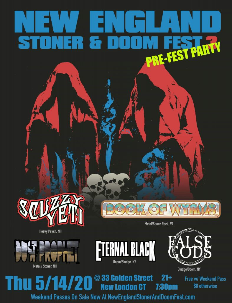 new england stoner doom fest 2020 preparty