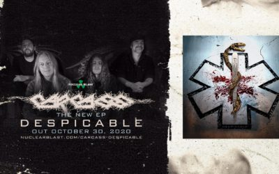 EP Review: Despicable by CARCASS (Oct. 30th, Nuclear Blast)